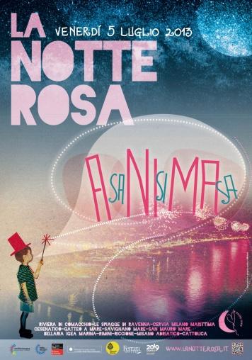 Розовая Ночь 2013, Римини, Италия